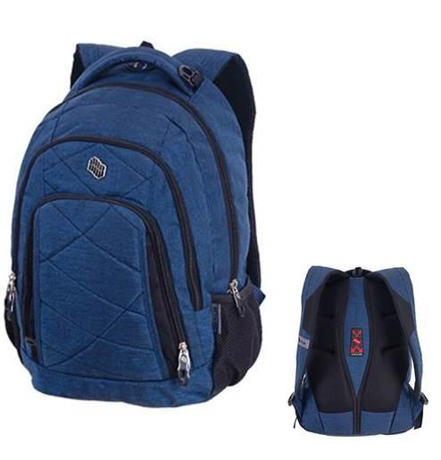 PULSE Classic Jeans kék farmer hátizsák - Iskola Webshop a738380487