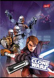 Star Wars/Clone Wars 2. osztályos vonalas füzet (vegyes minta), A5/16-32 - Unipap