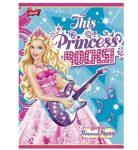 Barbie glitter 3. osztályos vonalas füzet (vegyes minta), A5/12-32 - Unipap