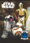 Star Wars 2. osztályos vonalas füzet (vegyes minta), A5/16-32