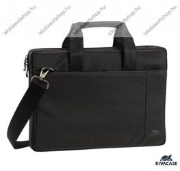 """RIVACASE notebook táska/laptoptáska, fekete, 13,3"""" (8221)"""