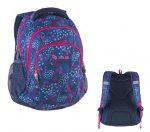Pulse Teens Blue Hearts/szivecskés hátizsák  (121443)