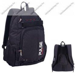 "PULSE ""Scate Dot"" fekete hátizsák notebook tartóval (120733)"