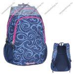 """PULSE """"Cots Dream Wave"""" kék-rózsaszín hátizsák notebook tartóval (121261)"""