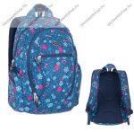 """PULSE """"Dobby Blue Heart"""" kék-rózsaszín hátizsák (121267)"""