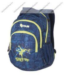 PULSE Teens Step up, kék-sárga hátizsák (121275)