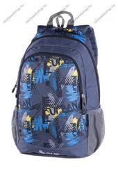 PULSE Cots Urban szürke-kék-sárga hátizsák (121430)