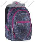 """PULSE """"Dobby Light Show"""", szürke-rózsaszín hátizsák (121432)"""