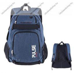 """PULSE """"Scate"""" sötétkék hátizsák notebook tartóval (121537)"""