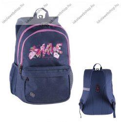 """PULSE """"Spin Jeans Smile"""" farmer-rózsaszín hátizsák (121555)"""