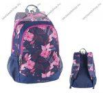 """PULSE """"Cots Pink Garden"""" hátizsák, rózsaszín virág mintás (121618)"""