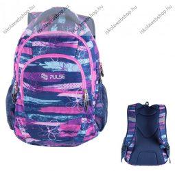 """PULSE """"Teens Bloom"""", kék-rózsaszín hátizsák (121649)"""