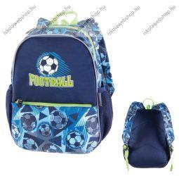 """PULSE """"Junior Football Time"""", kék-zöld hátizsák (121699)"""