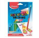 """MAPED """"Color'Peps Duo"""" színesceruza, 36 szín"""