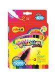 """COLOKIT """"Washable Markers""""  kimosható filctoll készlet, 12 szín"""