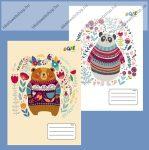 VICTORIA Bears 1. osztályos vonalas füzet, 14-32 (1 db, vegyes minta)