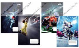 VICTORIA Sport kockás füzet, 27-32 (1 db, begyes minta)