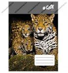 VICTORIA Wildlife kockás füzet, Tigris, A4/87-32