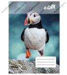 VICTORIA Wildlife kockás füzet, Bird, A4/87-32