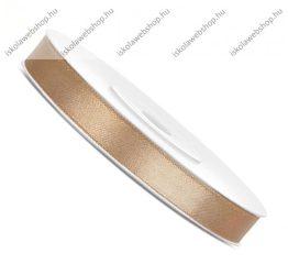 Szatén szalag, arany (6 mm, 25 m)