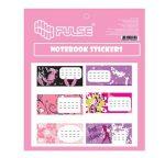 PULSE Girls füzetcímke, 30 db-os