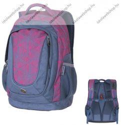 PULSE Music Pink Triangle rózsaszín-szürke hátizsák (121236)
