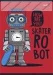 Robot Red kockás füzet, A5/27-32