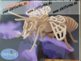 Méhecske fa modell 2. - 3D kirakó