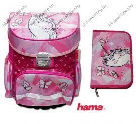 Hama iskolatáska szett, Unicorn/Unikornis/Lovas