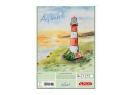 Rajzblokk A4 Akvarell - Világítótorony, 150g/m2 (20 ív)- Herlitz