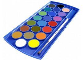 Vízfesték 21 szín + fedőfehér - Pelikan