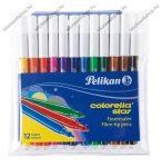Filctoll, Colorella Star C302, 12 szín - Herlitz