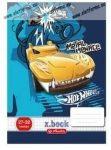 Hot Wheels Kék-Sárga autós felsős vonalas füzet, A5/21-32 - Herlitz