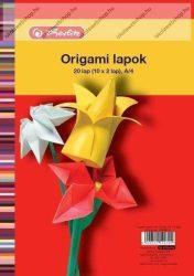 Origami lapok A4 (20 ív) - Herlitz