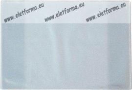 Bújtatós füzetborító/10 db, A5 átlátszó - Herlitz