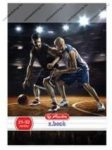 Sport - Kosárlabda kockás füzet, A4/87-32 - Herlitz
