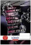 Fishbone Rock Deluxe sima füzet, A5/20-32 - Herlitz