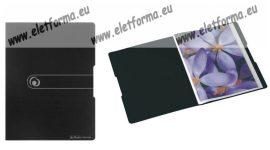 Bemutatómappa, A4/42 lap, fekete - Herlitz