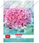 SPA A4 vonalas füzet, Pink virágos, A4/87-32 - Herlitz