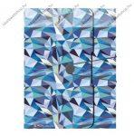 Füzetbox, PP, Wild Animals Blue, A4