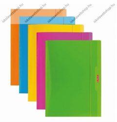Gumis mappa, pólyás, Color Blocking, A4 (1 db) - Herlitz