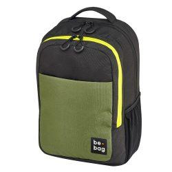 Herlitz Be.bag iskolai hátizsák, Be.clever - Black/Oliva