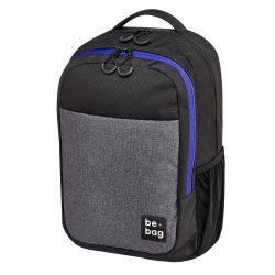 Herlitz Be.bag iskolai hátizsák, Be.clever - Grey melange (18 liter)