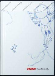 Notesz A6 keményfedeles  butikkönyv, Girl - Herlitz