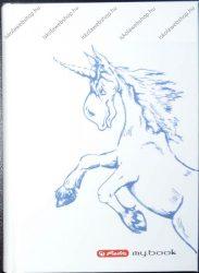 Keményfedeles notesz butikkönyv, Lovas - Herlitz (A6)