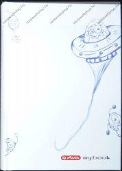 Keményfedeles notesz butikkönyv, Bolygós - Herlitz (A6)