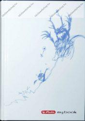 Keményfedeles notesz butikkönyv, Spider - Herlitz (A6)