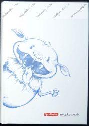 Notesz A6 keményfedeles  butikkönyv, Szörnyecske - Herlitz