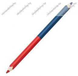 Postairon/Piros-kék ceruza, Vastag háromszögletű, 1 db - ICO
