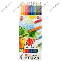 ICO Süni színesceruza, hatszögletű 12 db